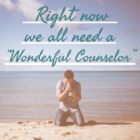 We all need a counselor